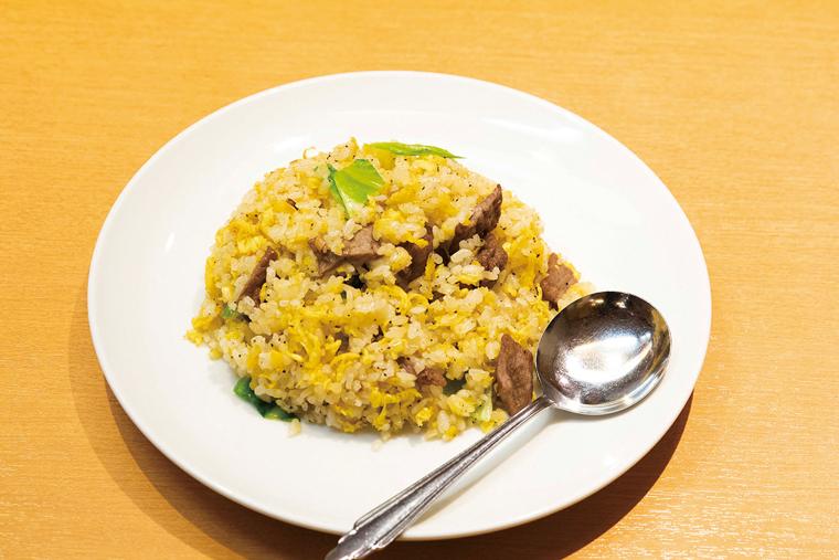 黒胡椒 牛肉チャーハン