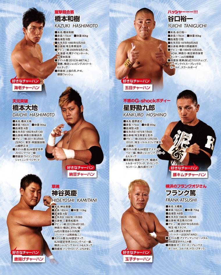 BJW大日本プロレス選手紹介3