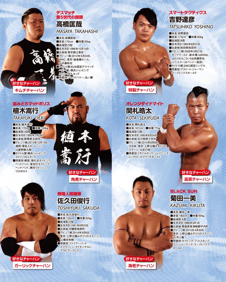BJW大日本プロレス選手紹介4